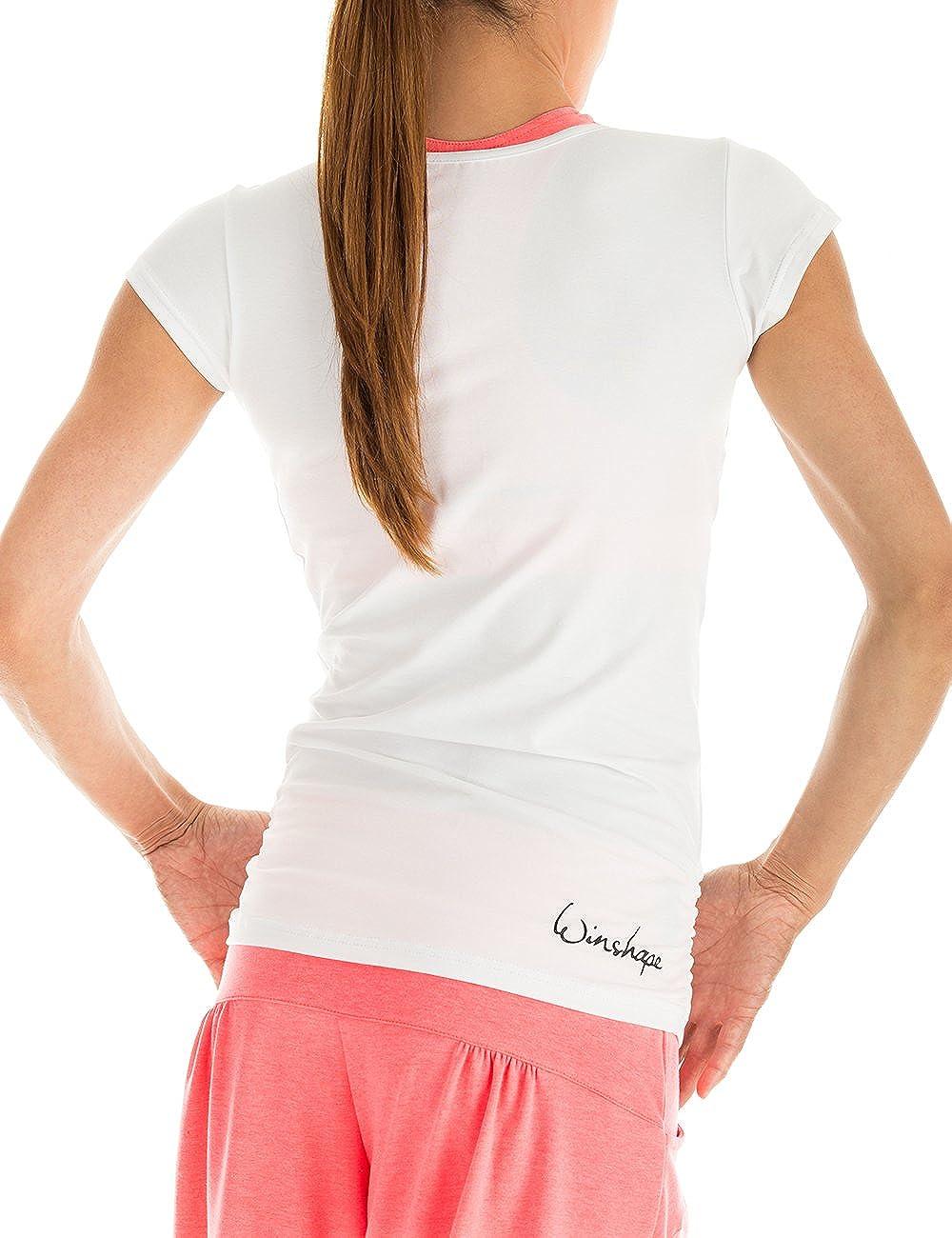 Tempo Libero Maglia a Maniche Corte WTR4 per Fitness Winston Yoga e Pilates.