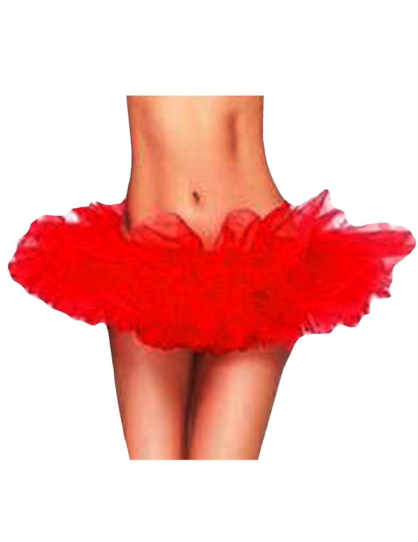 newrong Women's LED Light Layered Organza Ballet Tutu Skirt XZMYQQ0196