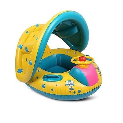 Amazon.com: Flotador inflable Jingou para piscina de bebé ...