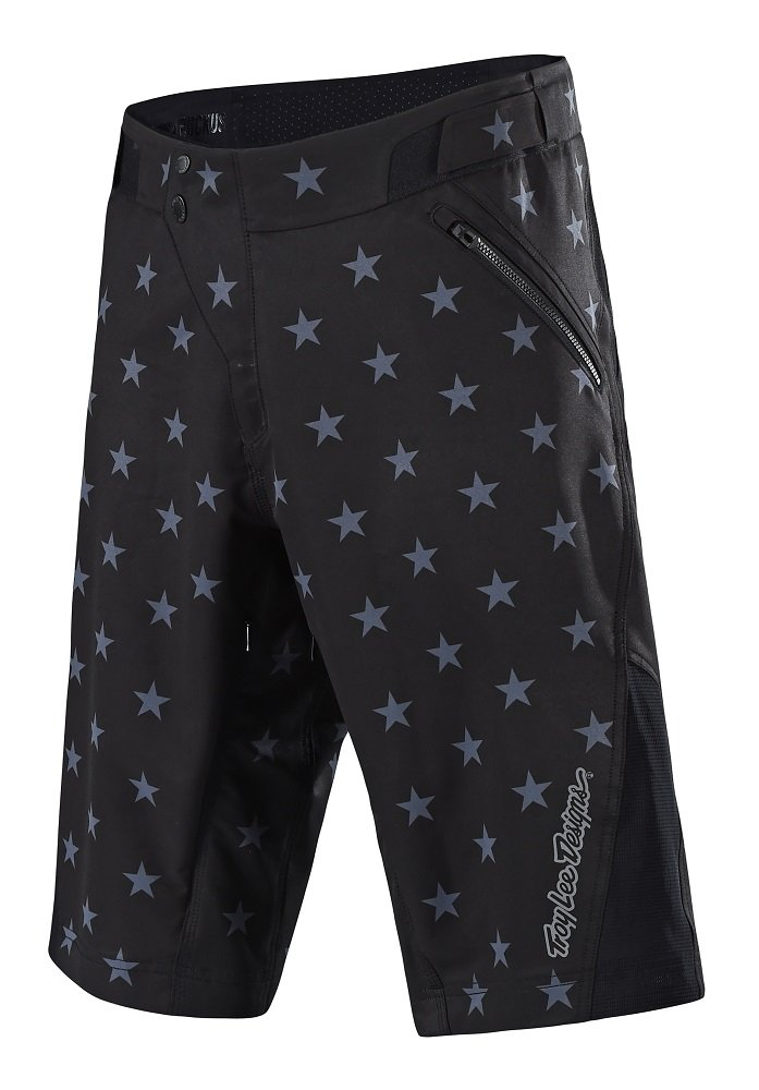 Troy Lee Designs Ruckus Short Shell - Men's Star Black/Gray, 36
