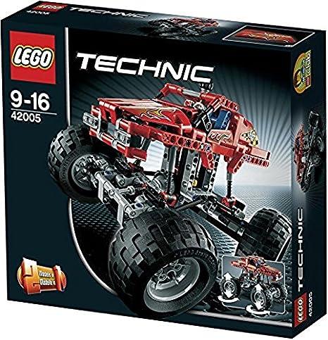 LEGO Technic 42005 - Monster Truck: Amazon.it: Giochi e giocattoli
