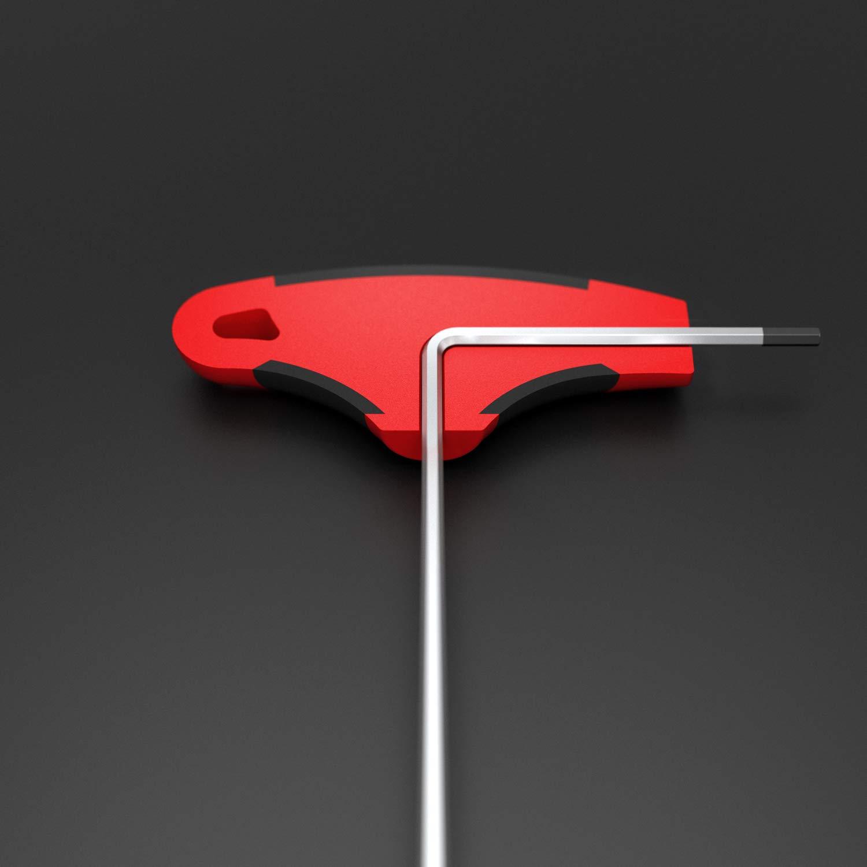 INBUS/® 70068 juego de llaves Inbus//conjunto 2K mango en T 3 mm llaves de hex/ágono interior Made in Germany llaves Allen acodadas m/étrico