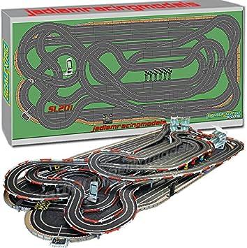 Scalextric Digital Set SL201 JadlamRacing Layout C7042 6 cars: Amazon.es: Juguetes y juegos