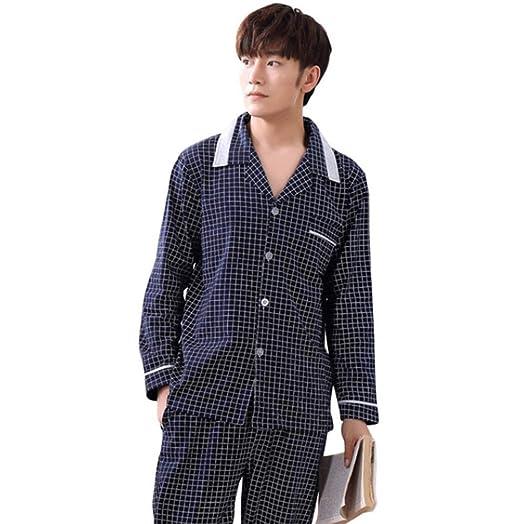 Otoño E Invierno Hombre Algodón Pijama Loungewear/Ropa ...