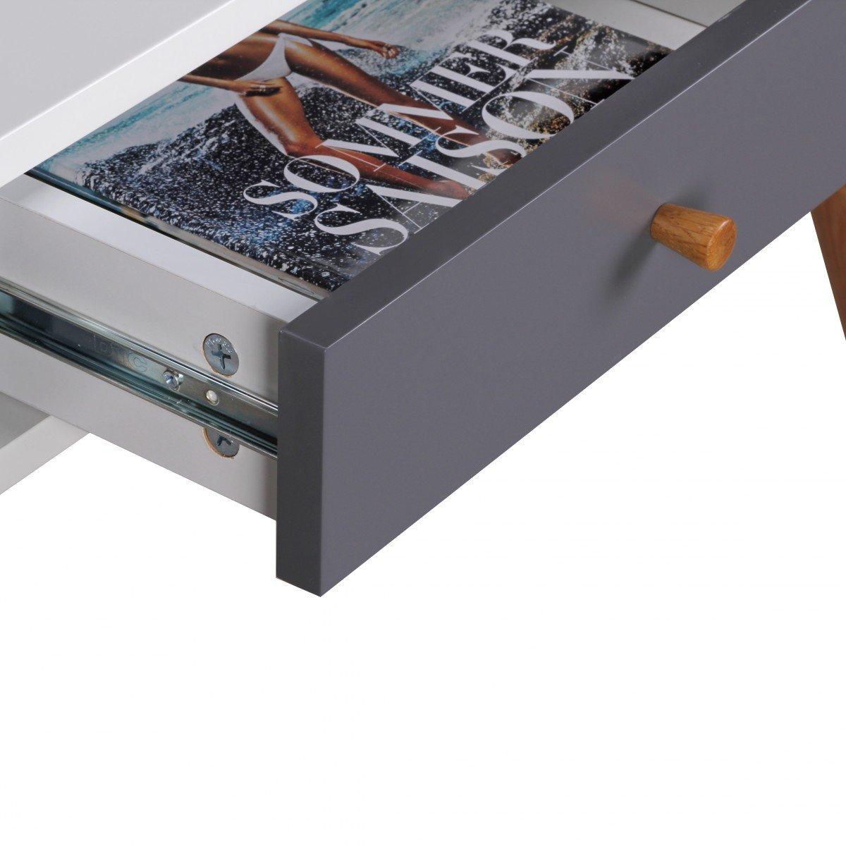 kchen 3 schubladen finest finebuy design retro mit schubladen wei blau kleiner mit ablage x x. Black Bedroom Furniture Sets. Home Design Ideas