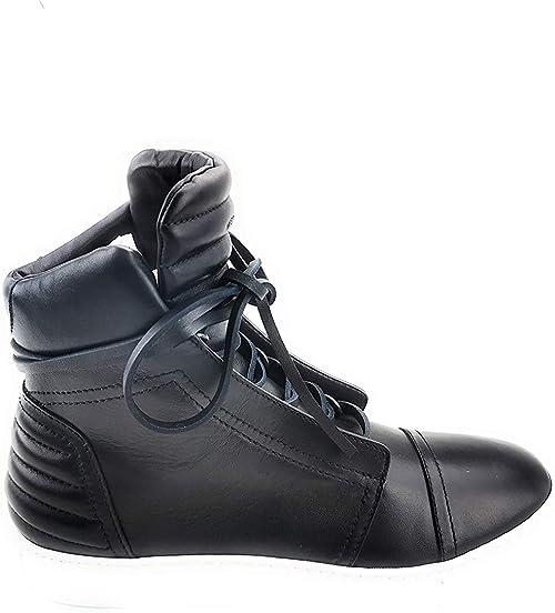 Diesel men's shoes boots FW16-FS2 black