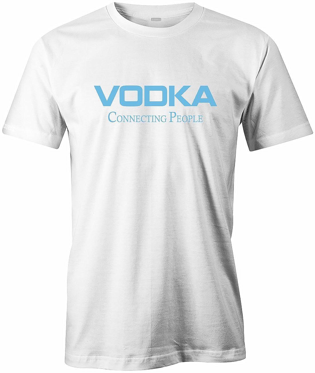 Gr VODKA Connecting People T-Shirt S bis XXXL