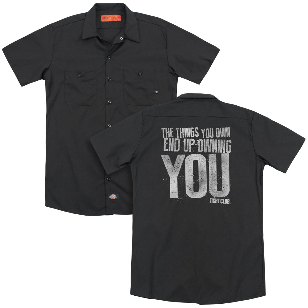 Sons of Gotham Fight Club Owning You Adult Work Shirt