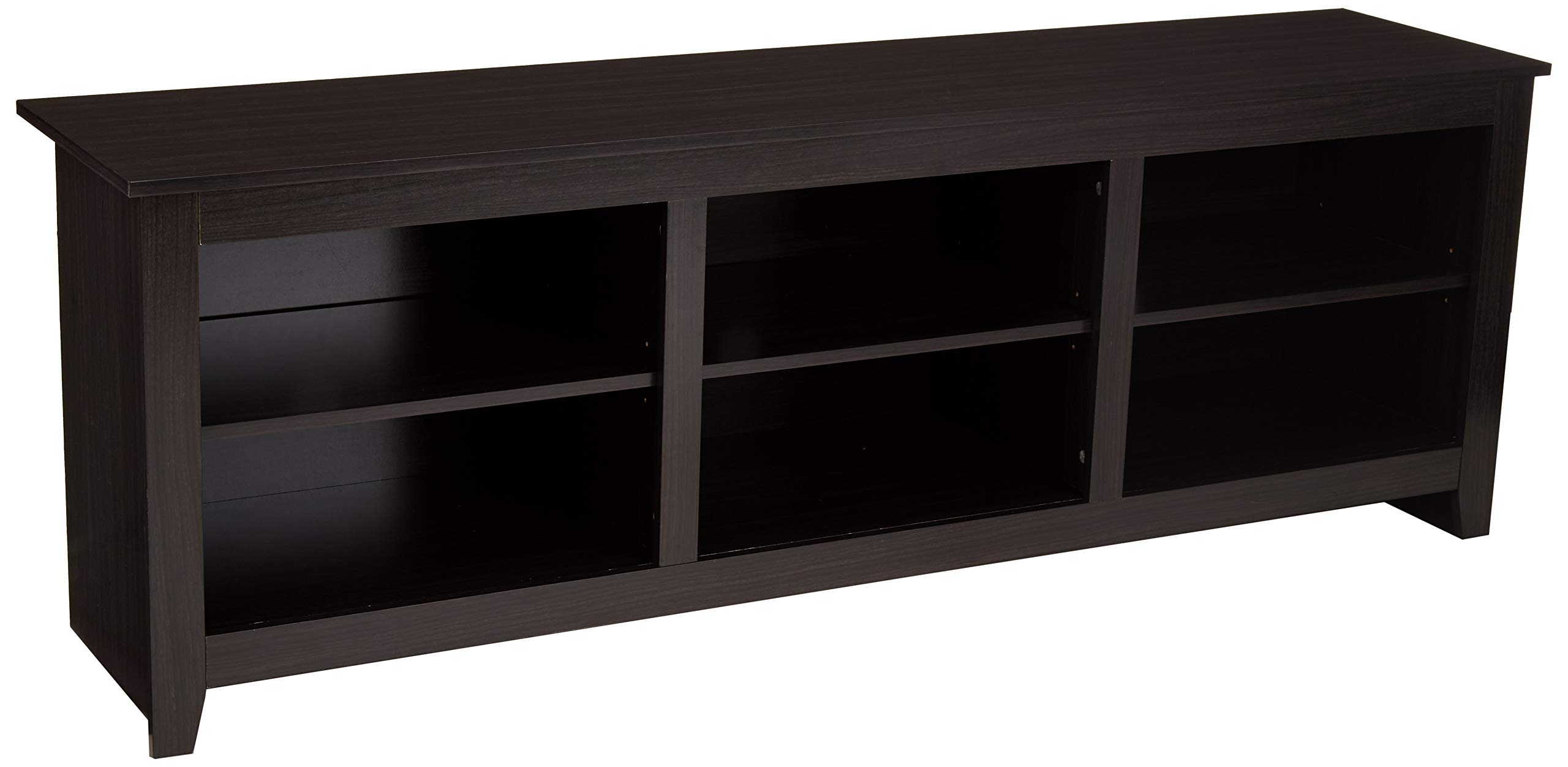 AmazonBasics Classic 70'' Wood TV Stand with Storage Console, Cappuccino by AmazonBasics
