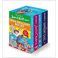 The World of David Walliams: Mega-Brilliant Box Set