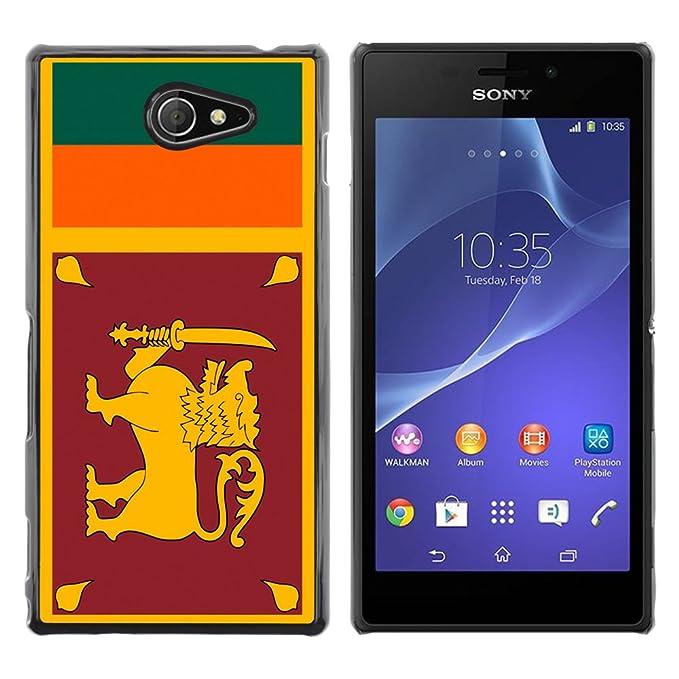 STPlus Sri Lanka Sri Lankan Flag Hard Cover Case for: Amazon co uk