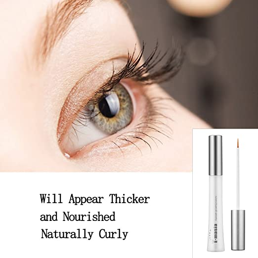 Amazon.com : Eyelash & Eyebrow Enhancing Growth Serum, 100% Organic, High Potency Lash Growth Enhancer.Gives You Longer Fuller Thicker Looking Eyelashes ...