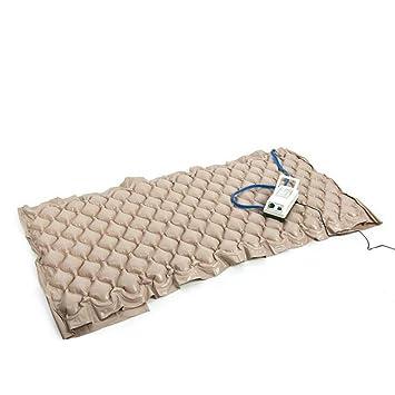 HUWAI Colchones Anti-escaras Colchón para Terapia en Burbujas de Aire colchón de presión con Bomba ...