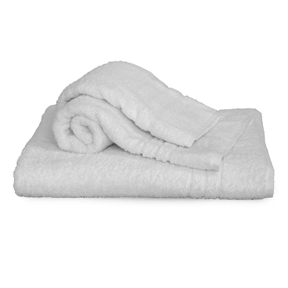 10 toallas de ducha, 10 toallas de manos, 10 toallas de invitados, rizo 100 Cot Hotel BB H165: Amazon.es: Hogar
