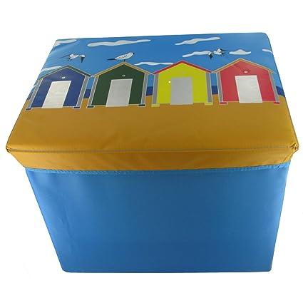 Casetas de playa plegable caja de almacenamiento – Ideal para niños juguetes y Camping
