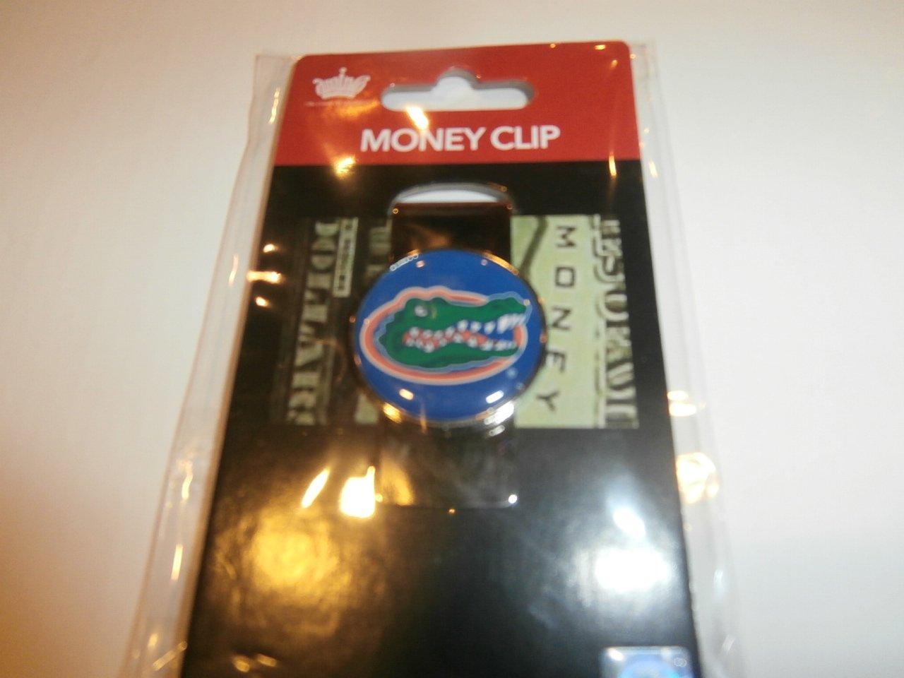 aminco NCAA Florida Gators Domed Money Clip