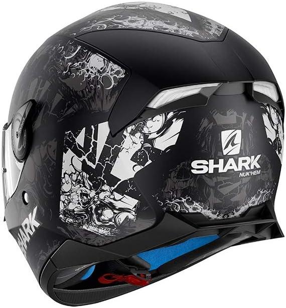 Shark Integralhelm Skwal 2 Nukhem schwarz//grau//wei/ß KAW Gr/ö/ße S