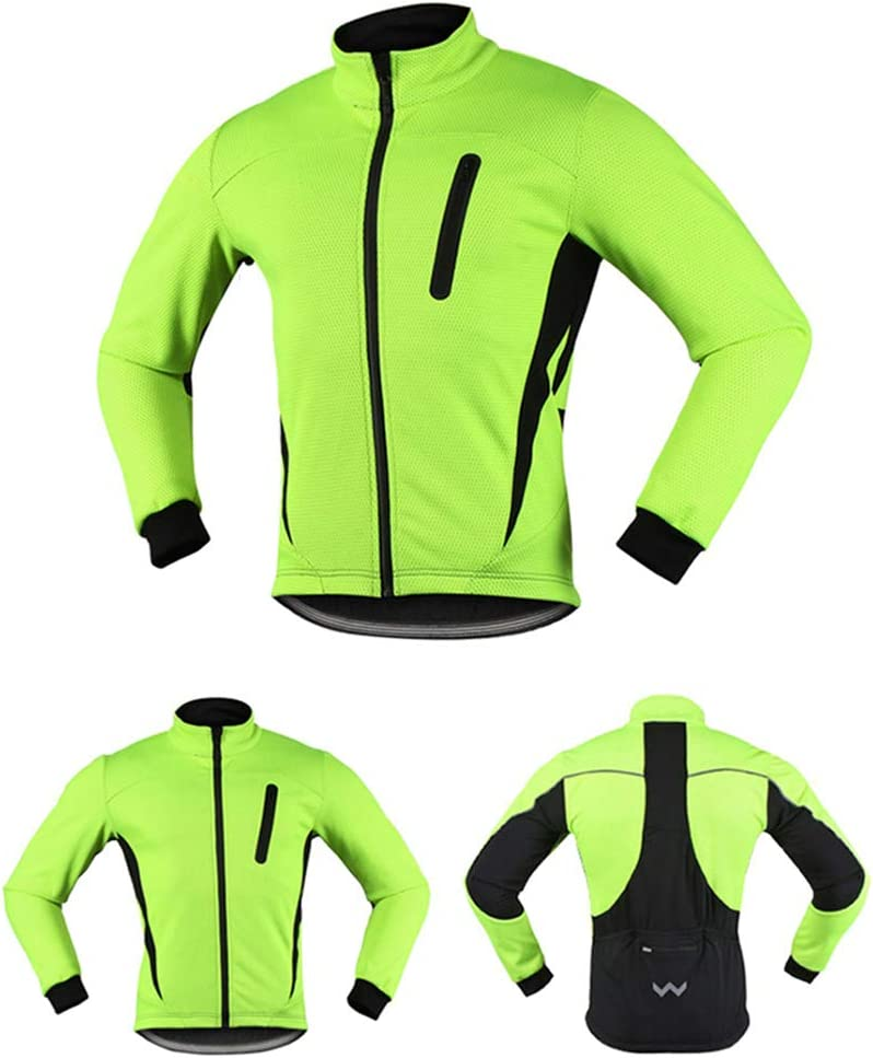 Fahrradbekleidung Sofeshell Jacke Wasserdicht Reflektierende Atmungsaktiv Thermo Fleece Sport Mantel Fahrradjacke Herren Winter