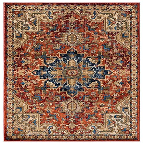 Luxe Weavers Howell Collection Red Oriental 8×10 Area Rug 2527