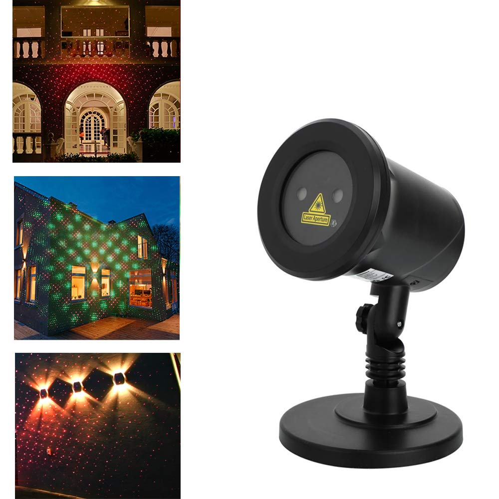 Christmas Laser Magic LED Projector Light Waterproof Landscape Lamp for Thanksgiving Party Indoor Outdoor Home Decoration by Bling Bling