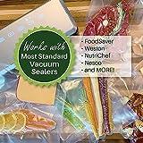 2 Rolls 11-Inch-by-50-Foot Vacuum Food Sealer Bags