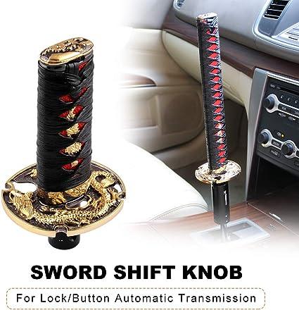 Automatic Change Knob Universal Automatic Gear Lever Knob Gear Shift Knob PU Leather