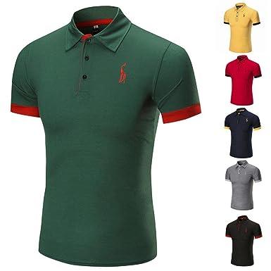 ❤Venmo Polos Hombre,Camisetas Hombre Originales Verano,Camiseta ...