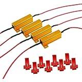 4PCS ARTR 50W 6ohm Load Resistors - Fix LED Bulb Fast Hyper Flash Turn Signal Blink Error Code(Resistor gets very hot during working)