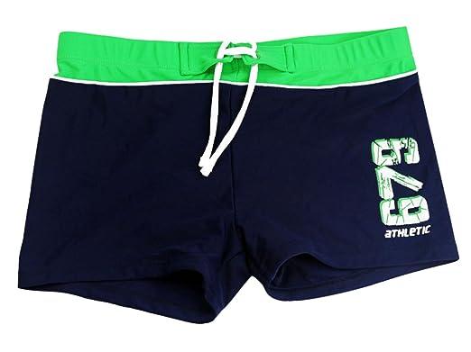 91a6b6d3a5 Happy Cherry Kids Boys' Swimming Trunks High Stretchy Swimwear Short Pants  4-5 Years
