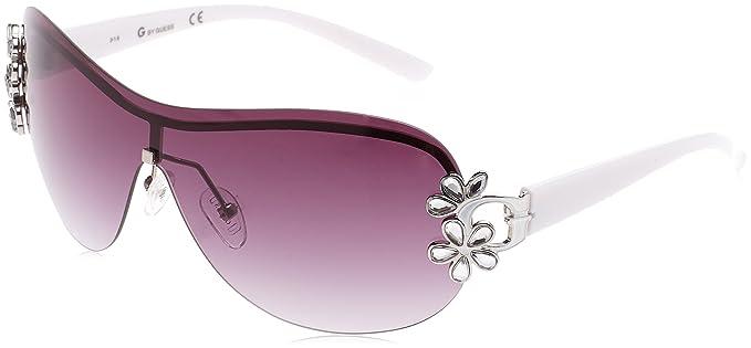 Guess GG1111_Q87, Gafas de Sol para Mujer, Blanco (Bianco/Nero),