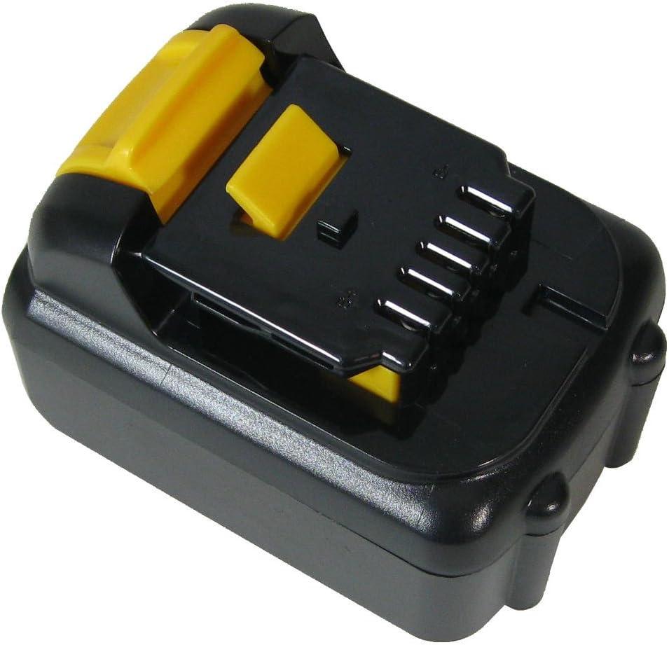 Trade-Shop 10,8 V, 4000 mAh, sustituye a Dewalt DCB120 DCB121, para DCB100 DCD710 DCD710S2 DCF610 DCF610S2 DCF813S2 DCF815 DCF815N Bater/ía de ion de litio
