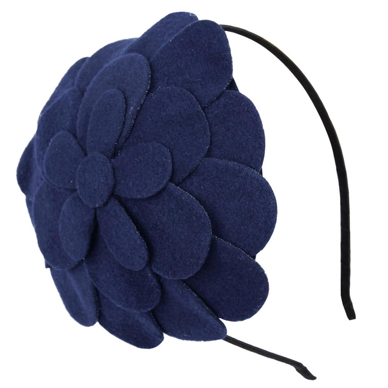 Fascigirl Fascinator Headband Flower Pillbox Hat Hair Hoop Wedding Headpiece