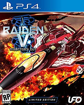 Raiden V: Director's Cut Limited Edition with Original Soundtrack CD - PlayStation 4 from UFO Interactive