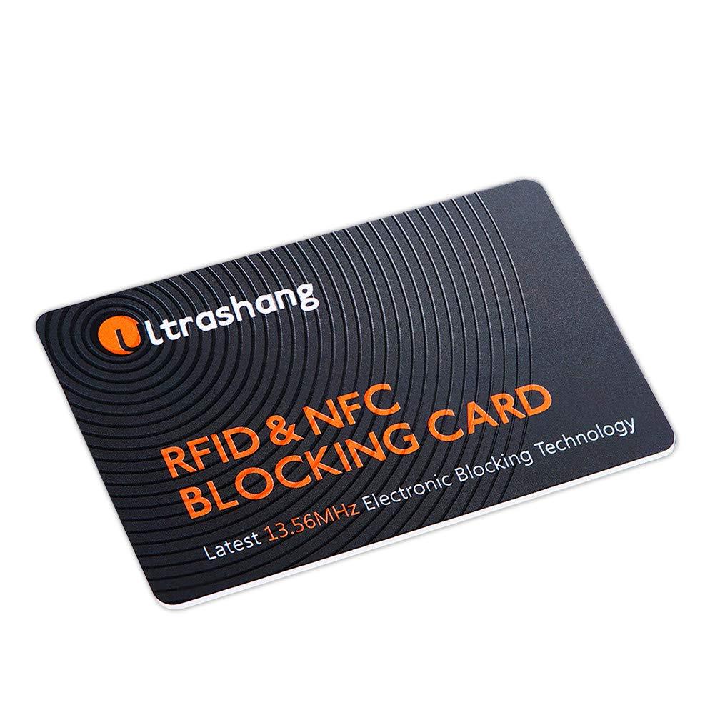 Bloqueador RFID Tarjeta, 1 Protector Tarjetas Crédito ...