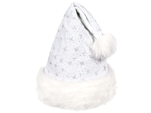 Cappello da Babbo Natale per Bambini a Luci LED rossi con Pon Pon (wm-14)  Rosso Bianco di Feltro di Alsino  Amazon.it  Casa e cucina 16278b75bd62