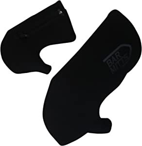 Bar Mitts Cold Weather Road Bicycle Handlebar Mittens, fits Shimano Shifters with Externally Routed Shift Cables