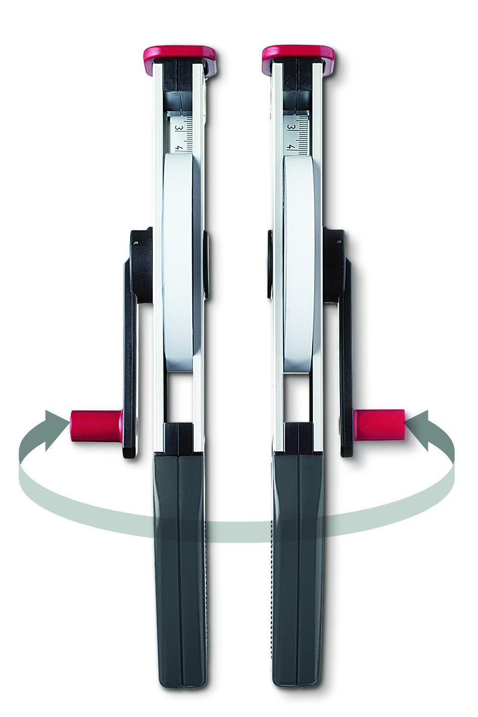 polyamidbeschichtet Breite 13 mm L/änge 50 m gedruckte Teilung BMI 505341050BF Isolan-Bandma/ß