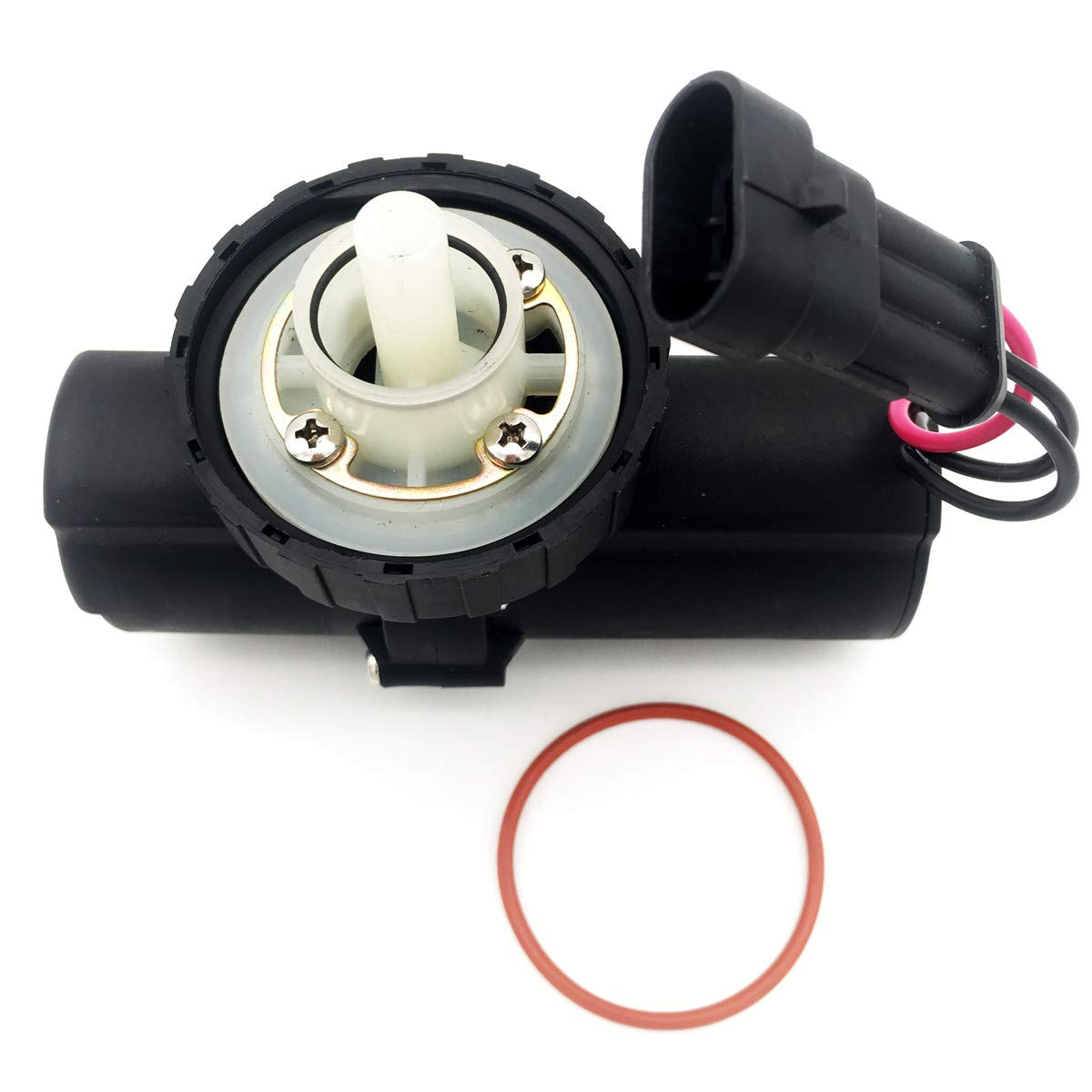 Electric Fuel Lift Pump Replacement for Ford New Holland 87802238 87802202 555E 5160S TS115 TS90 TB80 TS100 87802331 by spartshome