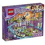 LEGO Friends 41130 Amusement Park Roller Coaster Building Kit (1124-Piece)