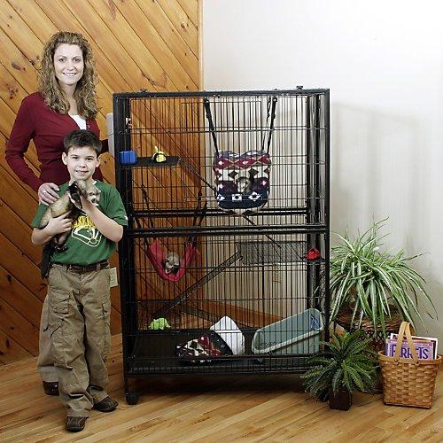 Marshall Folding Mansion for Small Animals by Marshall Pet Products