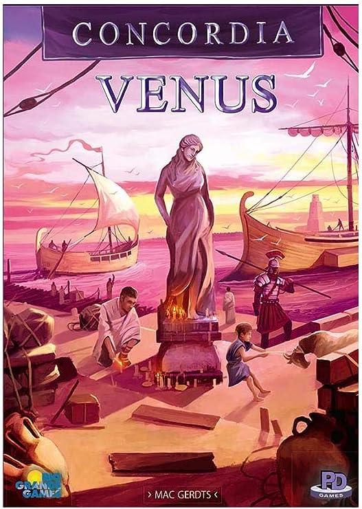 Concordia Venus Expansion Plus Base Game: Amazon.es: Juguetes y juegos