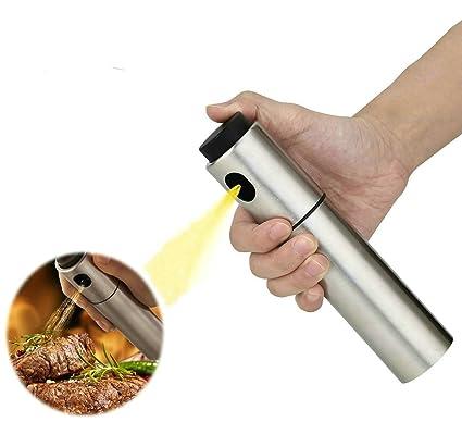 gudoqi pulverizador de aceite de oliva de acero inoxidable barbacoa adobo botella de Spray pulverizador de