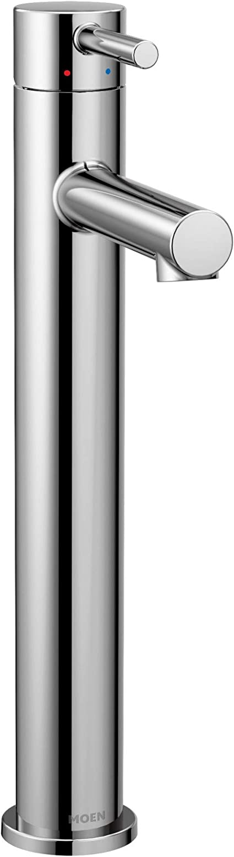 Moen 6192 Align One Handle Single Hole Modern Vessel Sink Bathroom Faucet Chrome