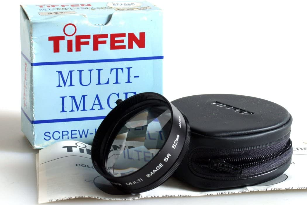 52MM 5 Image Screw in Filter with CASE