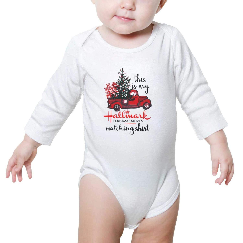 42bc20916 Amazon.com  My Hallmark Christmas Movie Shirt Cool Design Baby Girl ...