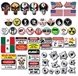 56 pack of Mexican American Edition Crude Humor Hilarious Hard Hat Prank Decal Joke Sticker Funny Laugh Construction LOL