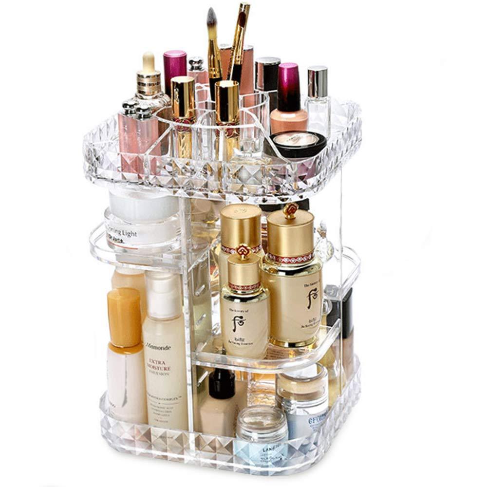 Tasybox 360 Degree Rotating Makeup Organizer Perfume Holder Diy Adjustable Large Beauty Box Rotation Cosmetic Storage Display Stand For Dresser Vanity Countertop Bathroom Buy Online In Cayman Islands At Cayman Desertcart Com Productid 128286108