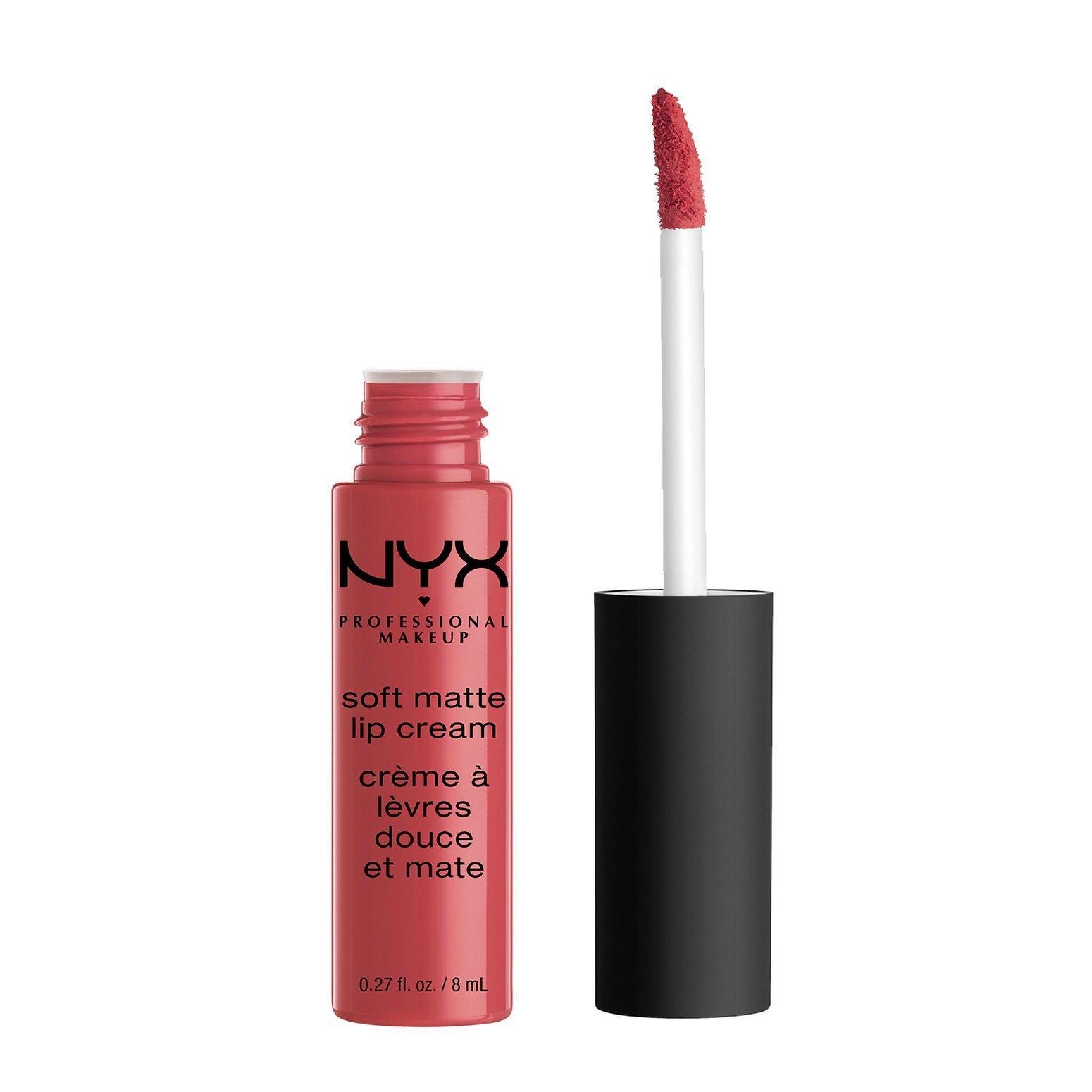 NYX Professional Makeup Soft Matte Lip Cream, Ibiza, 0.27 Fluid Ounce