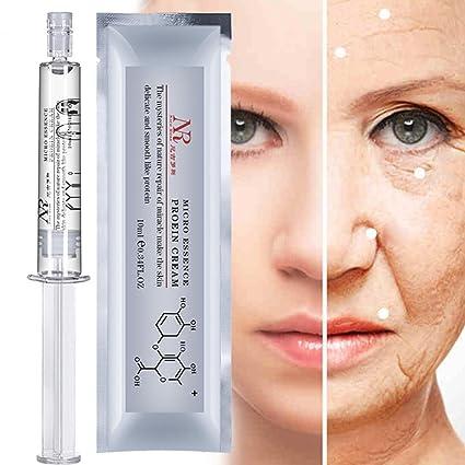 Bescita - Colágeno hidratante de proteína de seda, ácido hialurónico, líquido, cuidado de