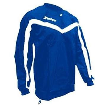 Zeus K-Way Albatros Impermeable Chaqueta Unisex Chaqueta de lluvia Chaqueta de viento Fútbol Sport Rain Colour Royal Blanco (XXS): Amazon.es: Deportes y ...
